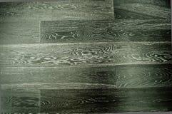 Zwarte houten muur als achtergrond Stock Foto