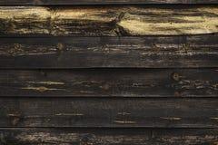 Zwarte houten muur royalty-vrije stock afbeeldingen