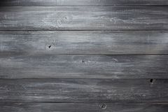 Zwarte houten oppervlakte Royalty-vrije Stock Foto