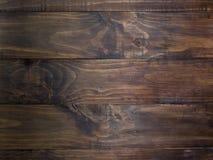 Zwarte houten textuur Stock Fotografie