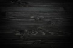 Zwarte houten textuur royalty-vrije stock foto
