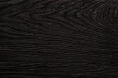 Zwarte houten textuur. achtergrond Royalty-vrije Stock Foto's