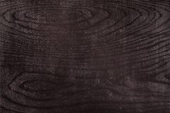 Zwarte houten textuur van zwart hout Royalty-vrije Stock Foto's