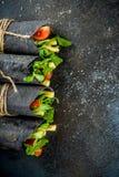 Zwarte houtskoolomslagen Royalty-vrije Stock Foto's