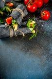 Zwarte houtskoolomslagen Stock Foto's