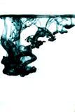 Zwarte inkt stock afbeelding