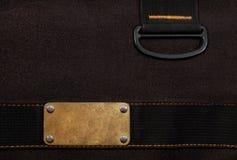 Zwarte jeans Achtergrond Royalty-vrije Stock Foto's