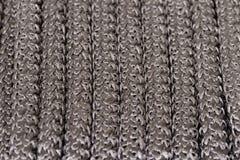 Zwarte kabel als achtergrond Royalty-vrije Stock Afbeelding