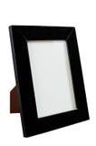 Zwarte kaderdesktop voor foto Stock Afbeeldingen
