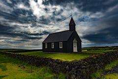 Zwarte Kerk Stock Foto