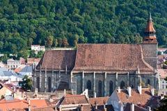 Zwarte Kerk Brasov Royalty-vrije Stock Afbeeldingen
