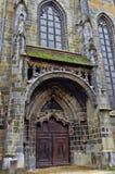 Zwarte Kerk in Brasov stock afbeelding