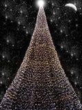 Zwarte Kerstmis Stock Afbeeldingen