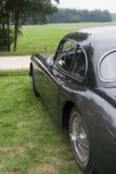 Zwarte klassieke auto Royalty-vrije Stock Afbeeldingen