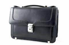 Zwarte kleine koffer Stock Foto's