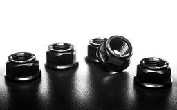 zwarte kleurennoten royalty-vrije stock fotografie