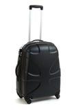 Zwarte koffer Royalty-vrije Stock Afbeeldingen