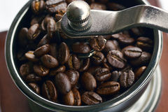 Zwarte koffie Royalty-vrije Stock Foto's