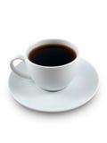 Zwarte koffie royalty-vrije stock foto