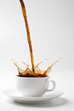 Zwarte koffie Royalty-vrije Stock Fotografie