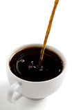 Zwarte koffie Stock Fotografie