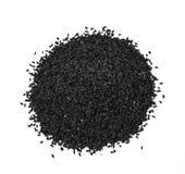 Zwarte komijnzaden Royalty-vrije Stock Afbeeldingen