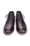 Zwarte laarzen Royalty-vrije Stock Afbeelding