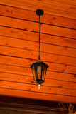 Zwarte lamp Royalty-vrije Stock Fotografie