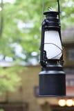 Zwarte lantaarn Royalty-vrije Stock Foto