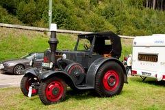 Zwarte Lanz-Buldog Royalty-vrije Stock Foto's