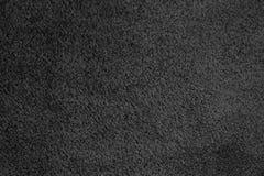 Zwarte leerachtergrond Royalty-vrije Stock Fotografie