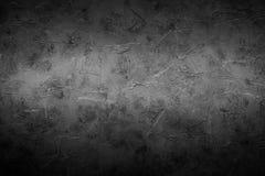 Zwarte lege concrete steentextuur Stock Foto's