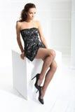Zwarte legging stock afbeelding