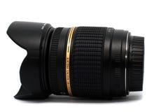Zwarte lens Royalty-vrije Stock Foto