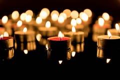 Zwarte lichten royalty-vrije stock afbeelding