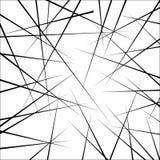 Zwarte lijnen Stock Fotografie