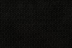 Zwarte lovertjes Stock Foto