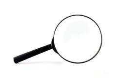 Zwarte Magnifier Stock Foto