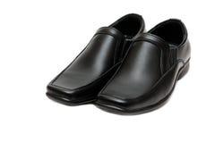 Zwarte man laarzen Royalty-vrije Stock Afbeelding