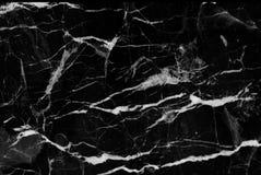 Zwarte marmer gevormde textuurachtergrond, Marmer van Thailand Royalty-vrije Stock Afbeeldingen
