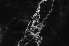 Zwarte marmeren textuurachtergrond, abstracte marmeren textuur natuurlijke patronen Stock Foto's
