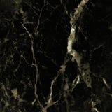 Zwarte marmeren textuurachtergrond, Gedetailleerd echt marmer van aard Stock Foto's