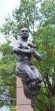 Zwarte Mensen standbeeld-Arbeider Stock Afbeelding