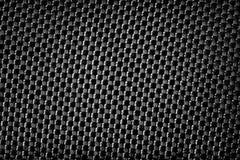 Zwarte metaal de textuurachtergrond van de grungestof Royalty-vrije Stock Foto