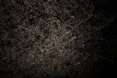 Zwarte metaalachtergrond De oppervlakte van de pan aan de oven Fant royalty-vrije stock afbeeldingen