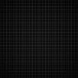 Zwarte millimeterpapierachtergrond Royalty-vrije Stock Afbeeldingen