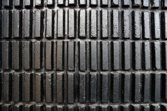 Zwarte moderne muurtextuur Royalty-vrije Stock Fotografie