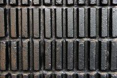 Zwarte moderne muurtextuur Stock Foto's