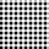Zwarte modieuze patronentafelkleden een illustratieontwerp stock illustratie