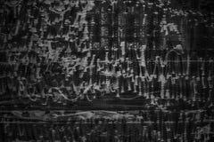 Zwarte muren als achtergrond, donkere textuur concrete oppervlakte Royalty-vrije Stock Foto's